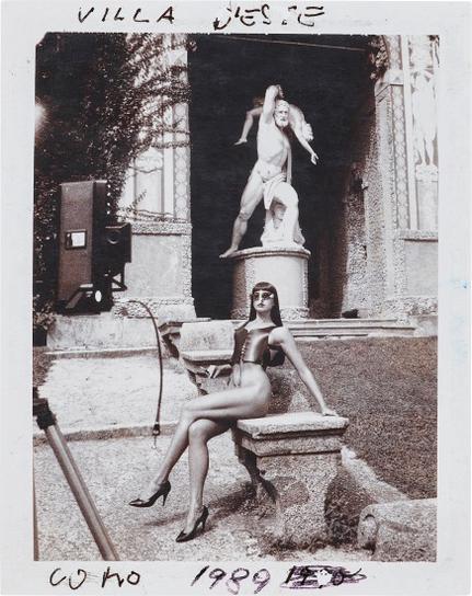 Helmut Newton-Max Magazine, Villa Deste, Lake Como-1989