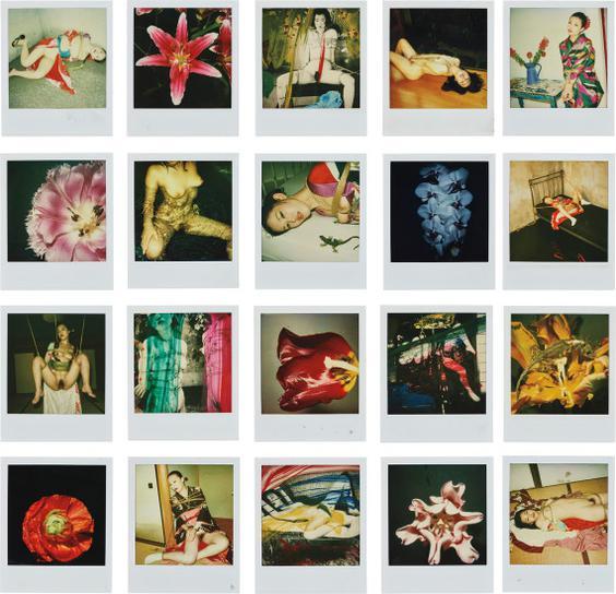 Nobuyoshi Araki-20 Polaroids-n.d.