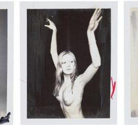 Patrick Demarchelier-Three Polaroids