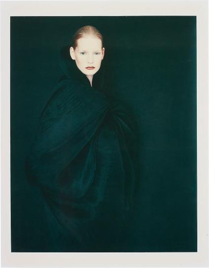Paolo Roversi-Kirsten In Nero, London-1989
