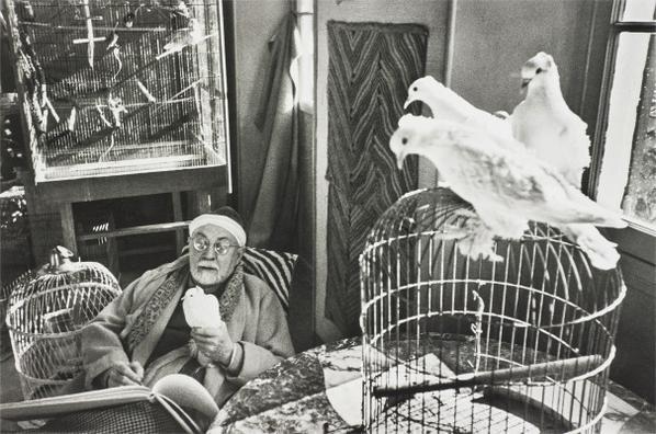 Henri Cartier-Bresson-Henri Matisse, Vence, France-1944