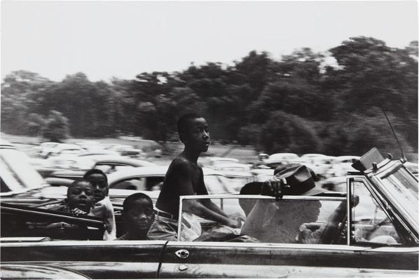 Robert Frank-Belle Isle, Detroit-1956