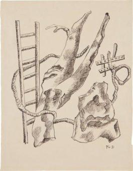 Fernand Leger-Composition A Lechelle-1931