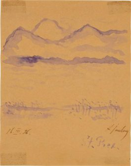Alexej von Jawlensky-Saint Prex Am Genfersee (St Prex On Lake Geneva)-1926
