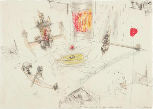 Roberto Matta-To Picture Orbits For The Most Complex Conflicts-1949
