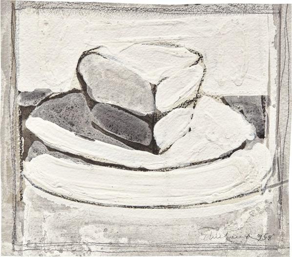 Wayne Thiebaud-Pie-1958