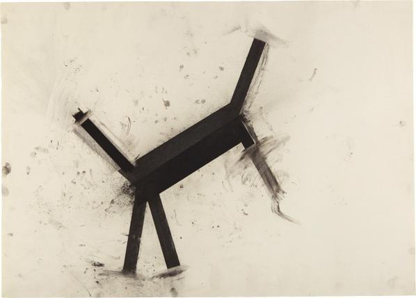 Joel Shapiro-Untitled-1986
