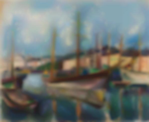 Raoul Dufy-Le Port Du Havre-1906