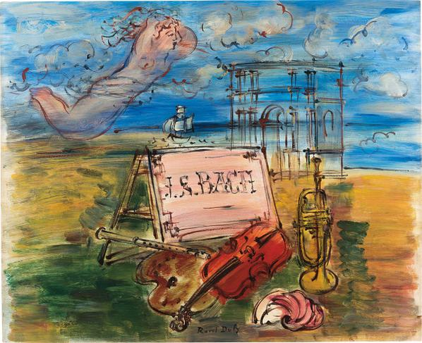 Raoul Dufy-Hommage A Bach-1946