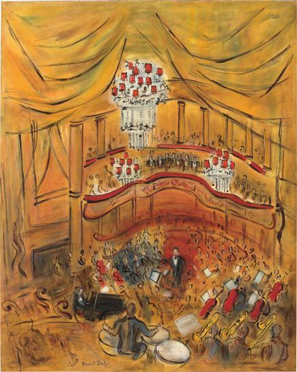 Raoul Dufy-Le Grand Orchestre-1946