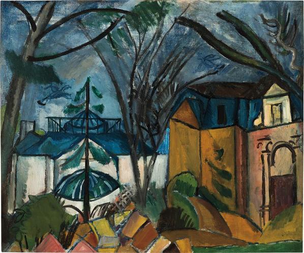 Raoul Dufy-Le Jardin Des Plantes-1909