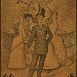 Georges Seurat-Lhomme A Femmes-1890