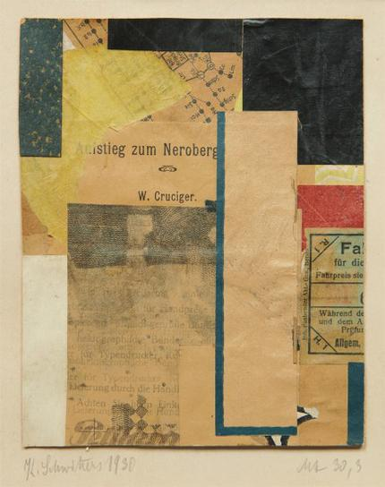 Kurt Schwitters-Mz 30,3-1930