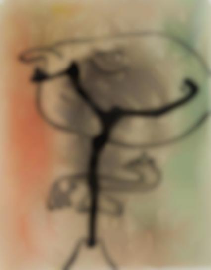 Joan Miro-Figure En Etat De Metamorphose (Figure In A State Of Metamorphosis)-1936