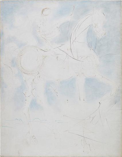 Salvador Dali-Don Quichotte-1969