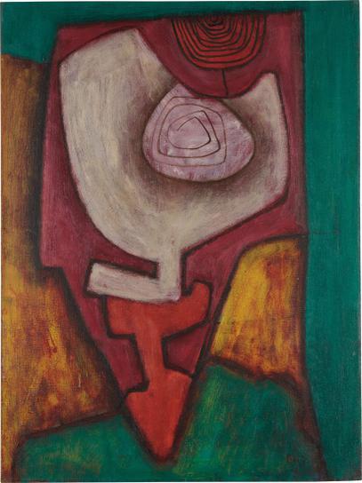 William Baziotes-Circus Abstraction-1946