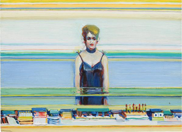 Wayne Thiebaud-Cosmetic Lady-1986