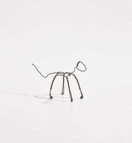 Alexander Calder-Untitled (Champagne Cork Wire Figure)-1960