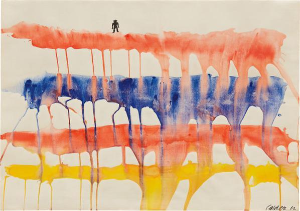 Alexander Calder-Pont Du Gard-1962