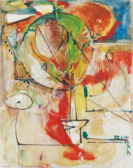 Hans Hofmann-The Secret Source-1941