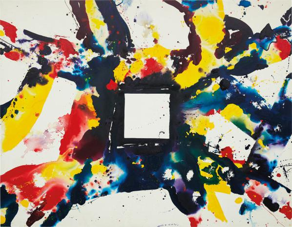 Sam Francis-Face To Face-1975