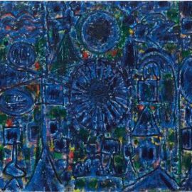 Richard Pousette-Dart-Blue Enstrata-1984