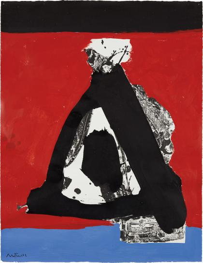 Robert Motherwell-I.H. Series No. 26-1970