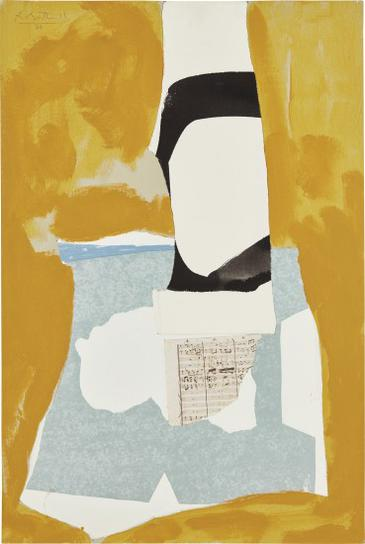 Robert Motherwell-Yeats Tower-1984