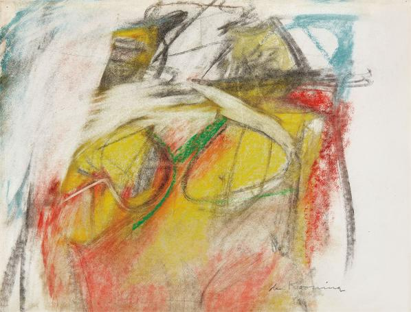 Willem de Kooning-Woman-1952