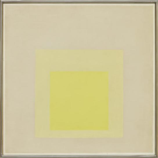 Josef Albers-Study For Homage To The Square: Awakening-1963