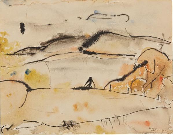 Helen Frankenthaler-Cape Breton-1952