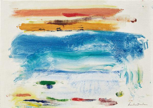 Helen Frankenthaler-Matt Series-1977