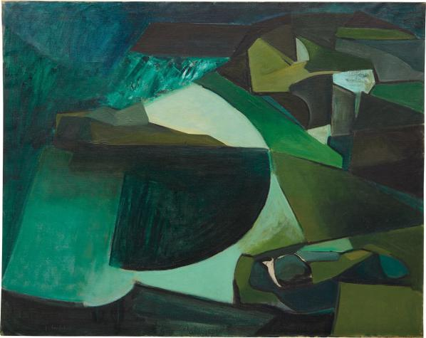 Joan Mitchell-Untitled-1949