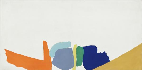 Friedel Dzubas-Untitled-1965