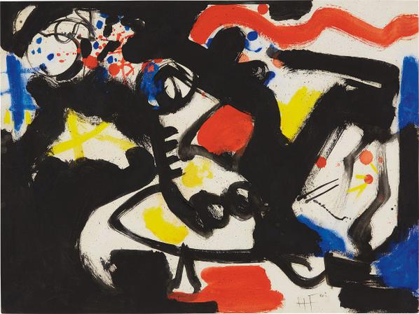 Hans Hofmann-The Serpent-1950