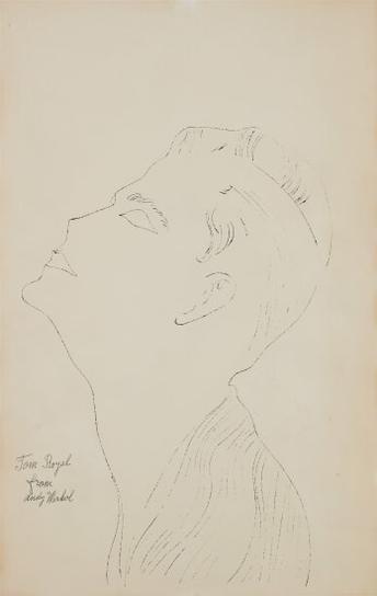 Andy Warhol-Tom Royal-1952