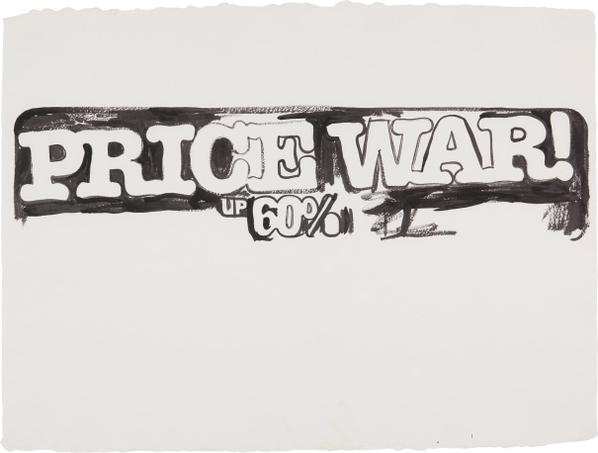 Andy Warhol-Price War-1986