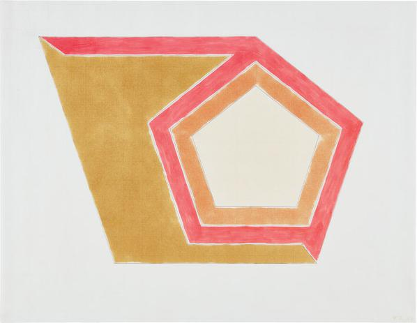 Frank Stella-Drawing For Ossipee III-1966