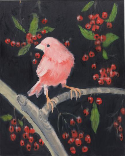 Ann Craven-Stepping Out With Cherries-2011