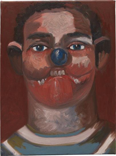 George Condo-The Athlete-2007