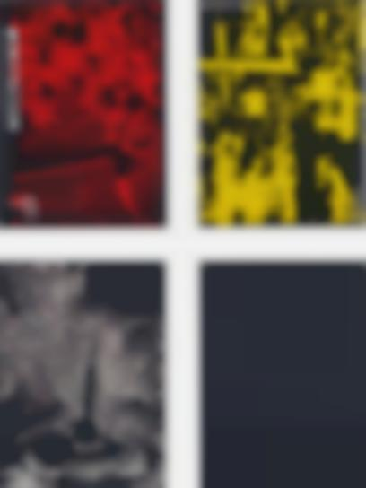 Adam Pendleton-Four Works: (i) History (Lab 01 Red); (ii) History (People Yellow); (iii) History (So I White); (iv) History ('68 Grey)-2005