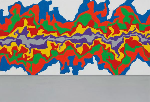 Sol LeWitt-Wall Drawing #1002 Splat-2001