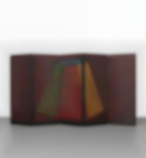 Sol LeWitt-Folding Screen: B-7 Asymmetrical Pyramid-1988