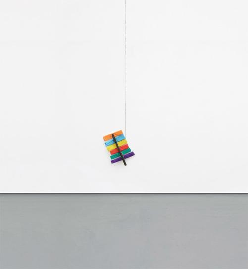 Richard Tuttle-26Th Line Piece-1990
