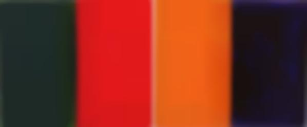 Gunther Forg-Two Works: (I-II) 9 Farben (From a Series of 40 Unique Color Paintings)-2000