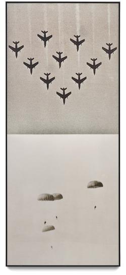 John Baldessari-Airplanes / Parachutes-1988