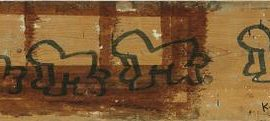 Keith Haring-Untitled-1980