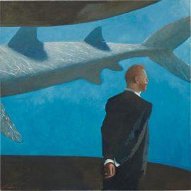 Julio Larraz-His Last Dream, 29 July-2007