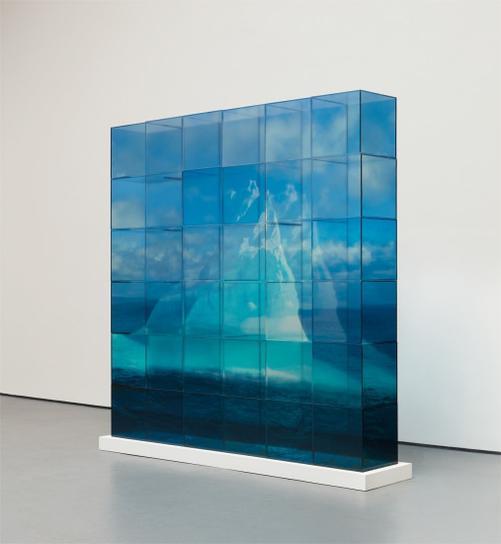 Teresita Fernandez-Quiet Ice (Blue)-2006