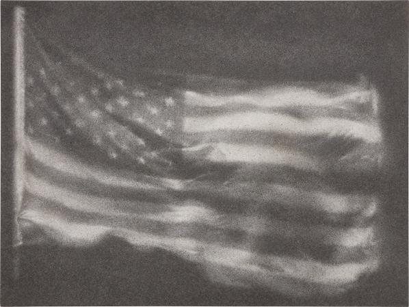 Zhang Huan-American Flag No. 7-2008